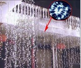 $enCountryForm.capitalKeyWord NZ - 8M* 3M water falls waterproof lamp 800 led holiday lights series of wedding wedding background light decorate window decoration