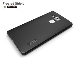 $enCountryForm.capitalKeyWord NZ - For Huawei Ascend Mate 8 Case Shockproof Cover Original Nillkin Super Frosted Shell Cover for Huawei Mate8 Case Protective Shell