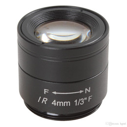 "China 4mm   F1.2 1 3"" 1.3MP High Definition IR Lens for CCTV Camera CCT_203 suppliers"