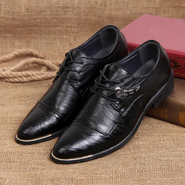 $enCountryForm.capitalKeyWord Canada - British Style Fashion Patent Leather Men Dress Shoes Pointed Toe Mens Work Zapatos Male Wedding Shoes For Men Leather Shoes 1859