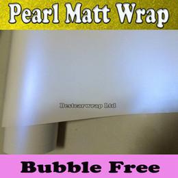 $enCountryForm.capitalKeyWord Canada - Satin Pearl Matt white Vinyl wrap Pearl Chameleon white-blue Car wrap Film with air release Pearl white foil 4.98x66ft 1.52x20m