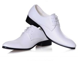$enCountryForm.capitalKeyWord NZ - NEW New Arrival British classic Men's pointed Shine leather shoes wedding dress shoes white and black S51