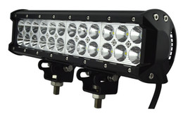 Train works online shopping - Inch W LED Lights Bar Off Road ATVs Boat Truck UTV Jeep Train Driving Work Light Bars