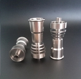 $enCountryForm.capitalKeyWord NZ - Domeless Titanium Nail fits to 14mm &18mm.GR2 Pure Titanium Nail with Female Jiont for Water Pipe Glass Bong Smoking.