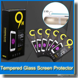 Iphone Glass Screen Guard Australia - Premium Real Tempered Glass Film Screen Guard Protector for iPhone 6 Samsung Galaxy S4 S5 S6 S6 Edge Note 4 Note 5 Film