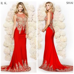 Shail k red dress xlarge