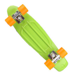Toys Skating Board Canada - Wholesale-Upgraded Newest Design Skate Board Strong Long Wheel Flying Wave Skateboard Girl Boy Christmas Birthday Gift Toy Free Shipping