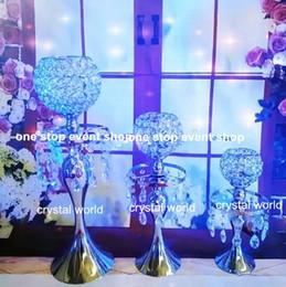 $enCountryForm.capitalKeyWord Australia - Hot sale ! crystal candelabra centerpieces candle holder for wedding table decoration