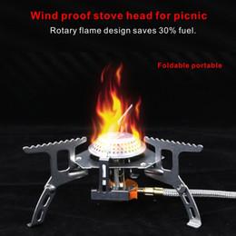 Ветер доказательство плита голова походы кемпинг для пикника оборудование складной портативный высокое магнитное давление зажигания устройство.