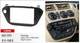 $enCountryForm.capitalKeyWord Canada - CARAV 11-161 Top Quality Radio Fascia for TOYOTA Vista (V50) 1998-2003 (Right wheel) Stereo Fascia Dash CD Trim Installation Kit