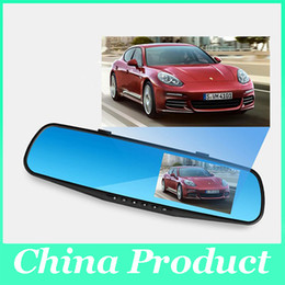 $enCountryForm.capitalKeyWord Canada - 4.3'' Car Rearview Mirror Camera 140 degree Video Recorder Car DVR HD Camcorder Dash Cam G-Senor hot selling 010230