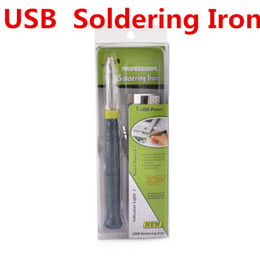 $enCountryForm.capitalKeyWord NZ - Professional USB Soldering Iron Tips 5V 8W Electronic Tools Touch Switch With Indicator Light Industrial Supplies MRO Welding ZD-20U