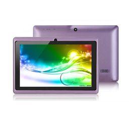 $enCountryForm.capitalKeyWord UK - Q88 7 inch tablet PC A33 Quad Core Allwinner Android 4.4 KitKat Capacitive 1.5GHz 512MB RAM 4GB ROM WIFI Dual Camera Flashlight