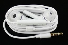 Wholesale Top Quality mm Headphone Noise Cancelling In Ear Headset earphone with Remote Mic Volume for All iphone SAMSUNG GALAXY S2 S3 S4 S5 S6