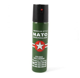 Chinese  NATO Self Defense Device 110ML Pepper Spray Personal Security bodyguard self protection tool manufacturers