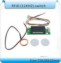 Rfid Reader Tags Canada - Free shipping DIY SY - RF188 Mini 125KHZ RFID smart switch, embedded switch RFID card reader+2 tags