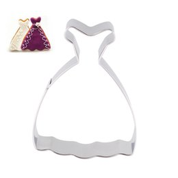 $enCountryForm.capitalKeyWord Canada - New Romantic Wedding Dress Princess Gown Cookies Cutter Biscuit Jelly Fondant Cake Mould Kitchen Tool Free Shipping