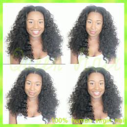 $enCountryForm.capitalKeyWord Canada - Full Lace Curly Human Hair Wigs Glueless Brazilian Hair Curl Virgin Wig 8A Hot Sale Natural Color Human Virgin Full Lace Wig