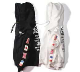 $enCountryForm.capitalKeyWord Australia - New 2017 Designs hoodies ST World Tour Paint Colorful Splash-ink Unisex Sweats Tops Couples Hoodies Fleece Bird OVO Drake D7925