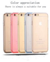 $enCountryForm.capitalKeyWord Canada - For iPhone 6 6s 6plus Samsung S7 S7edge S6 S6 edge A310 A510 A710 360TPU Soft Ultra-thin Transparent Silicon 2 in 1 Front And Back Cover