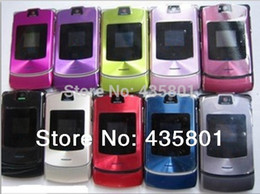 Wholesale With gift Cheap phone V3i Mobile Phone Russian keyboard English keyboard suport Unlocked cell phone