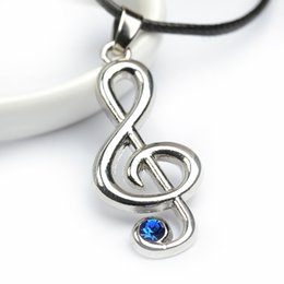 Just hot online shopping - 2018 musicofasong pendant necklace Just dance with you together rope chain New Arrived Hot Selling pendant necklace ZJ