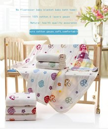 gauze towels NZ - high quality baby bath towels baby gauze blanket