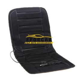 China New 12V Car Heated Seat Cushion Cover mats pad Car Heated Seats Black Winter Warmer Cushion car Accessories cheap winter car heated pad suppliers