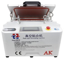 iphone lcd refurbished machine 2019 - AK Plate Type Laminating Machine Vacuum LCD OCA Laminator Machine Bubble Remover Repair Machine For Touch Screen Refurbi