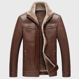 Fleece Lined Leather Coat Online | Fleece Lined Leather Coat for Sale