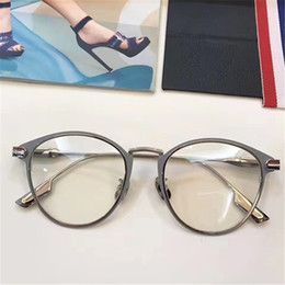 a034a055b6e8 Men round optical fraMe online shopping - Luxury Fashion Women Brand  Designer Popular TB Glasses Optical
