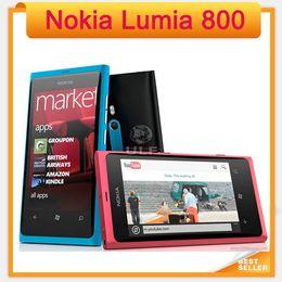 $enCountryForm.capitalKeyWord Canada - Original Nokia Lumia 800 Mobile Windows OS 16GB ROM 8MP 3G Wi-Fi GPS Bluetooth Cell Phone in Stock!!