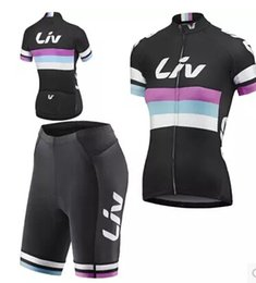 Wholesale-2015 Pro giant liv woman Cycling short sleeve Jersey and shorts  bike Wear Clothing Bike Ropa Ciclismo Quick Dry free shipping ... ba8e2a32f