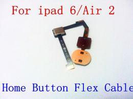 $enCountryForm.capitalKeyWord Canada - For ipad 6 Air air 2 home button flex cable Original New Replacement Part home button flex cable Test Passed for Ipad 6