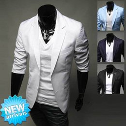 Discount Men White Linen Casual Suits   2017 Men White Linen ...