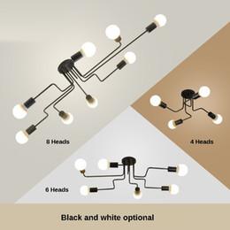 Опт Старинные Подвесные Светильники Многоярусные Кованые Потолочные Лампы E27 Лампы Гостиная Lamparas для Домашнего Освещения Светильники
