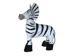 Costume De Zèbre Madagascar Pas Cher-Magasins d'usine classique de Noël Madagascar Zebra Marty Halloween Cartoon Adulte Animal Mascotte Costume livraison gratuite