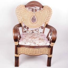 Armchair Styles Canada   Enron House Rattan Chair Armchair European Style  Sofa Chair Office Chair