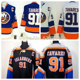 f0e00a48035 Cheap Men s New York Islanders Hockey Jerseys  91 John Tavares Jersey Team  Color Home Royal Blue Authentic Stitched Jersey