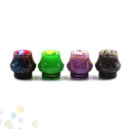 $enCountryForm.capitalKeyWord UK - 810 Drip Tips for e cigarette Colorful Vase Epoxy Resin Drip Tip fit TFV8 TFV12 Vape Rda Atomizer Mouthpiece DHL Free