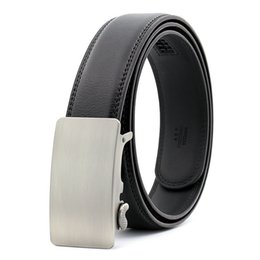 mens real genuine leather belts Australia - Mens Designer Belts 2018 Real Genuine Leather Automatic Buckle Male Waistbands Belts Luxury Ceinture Homme Luxe Marque Promotion