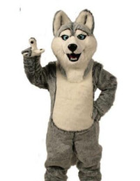 $enCountryForm.capitalKeyWord Canada - hot High Quality Wolf mascot costumes halloween dog mascot character holiday Head fancy party costume adult size birthday