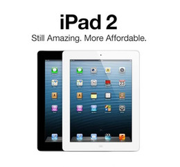 "Ingrosso IPAD Rentaglio 100% originale Apple IPAD2 16 GB 32 GB 64 GB WiFi iPad 2 Apple Tablet PC 9.7 ""IOS Rentaglio tablet DHL DHL"