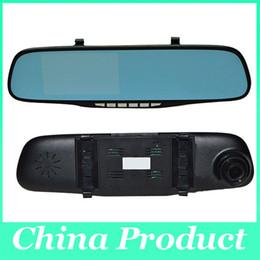 $enCountryForm.capitalKeyWord NZ - 4.3inch 1080P Dual Lens Car DVR Two Camera Blue Mirror Full HD H.264 120degree Angle View Separated Rear camera Gsensor 010226