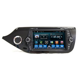 Chinese  Car dvd sat nav tv 2 din in dash navigation system built in radio rds wifi gps touchscreen fit for Kia Cee'd manufacturers