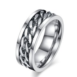 Men Size 15 Rings Australia - 316L Stainless Steel IP Silver Plated High Polished Men Fashion Rings 8mm Size 6-15