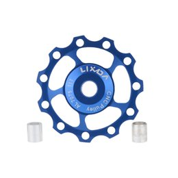 CeramiC wheel bearings online shopping - LIXADA T MTB Bike ceramic bearing jockey wheels pulleys for Mountain Road bicycle colors