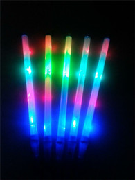 concert toys NZ - Glow Stick LED Spin LED Sticks Led Wand Color LED Flashing Glow Light Sticks Flashing Rainbow Light Gifts Fashion Children Concert New Toys