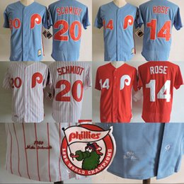 bc775e1d5 new zealand mitchell and ness phillies 14 rose stitched white red strip  throwback mlb jersey eaf9b 3f2b9