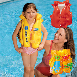 b191f22f87bee New Baby Kid Toddler Child Children Infant Boy Girl Inflatable Float Pool  Beach Life Jacket Swim Wear Vest Swimming Safety Aid Training Suit